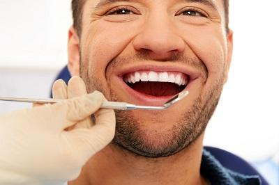 Man at Dentist | Cosmetic Dentist in Annapolis MD