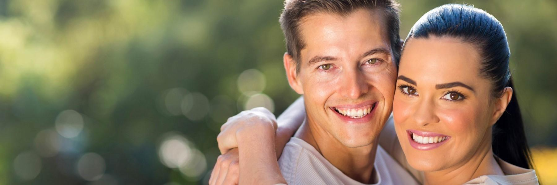 Man and woman smiling | Dentist Annapolis MD