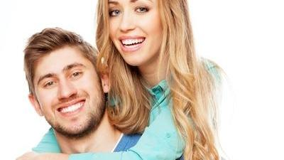 Man and woman smiling | Chesapeake Bay Dentistry